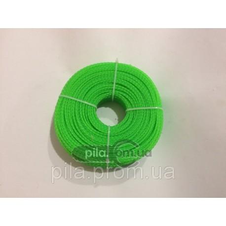 Леска косильная 3 мм (100 м) плетеный квадрат