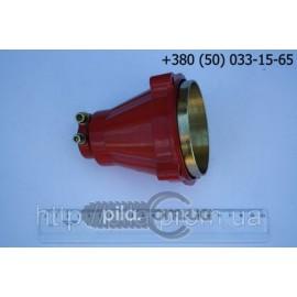 Верхний редуктор квадрат 5х5 мм для мотокосы (трубы 26 мм)