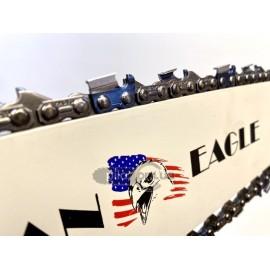 Цепь и шина American Eagle (38 см) для китайских бензопил 4500/5200